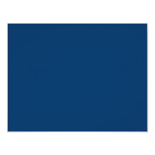 Noah Jack Bar Mitzvah Reception Navy Blue Card
