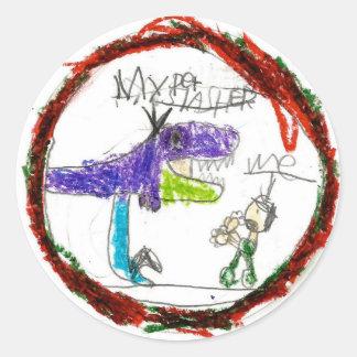 Noah: Round Sticker
