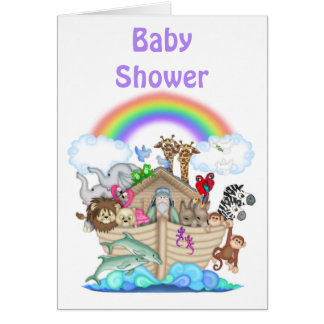 Noah s Ark Baby Shower Invitation Cards