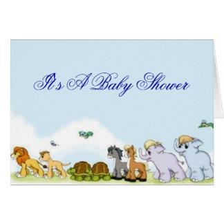 Noah s Ark Baby Shower Invitation Greeting Card