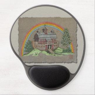 Noah's Ark Barn Gel Mouse Pad