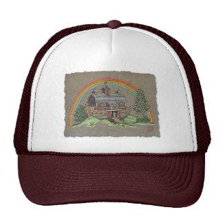 Noah's Ark Barn Mesh Hats
