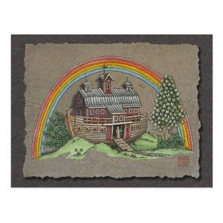 Noah's Ark Barn Post Cards