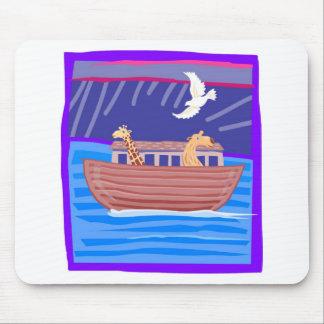 Noah s ark Christian artwork_2 Mouse Pad