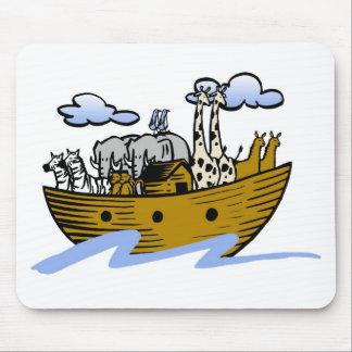 Noah s ark Christian artwork_3 Mousepad