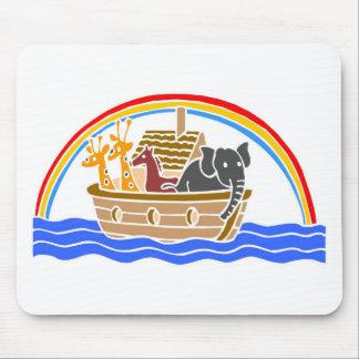 Noah s ark Christian artwork_4 Mousepad