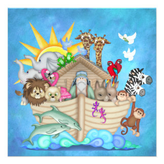 Noah s Ark - SRF Invitations