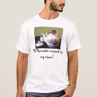 Noah, The Hamster messed up my room! T-Shirt