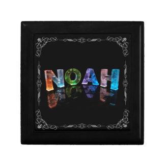Noah  - The Name Noah in 3D Lights (Photograph) Gift Box