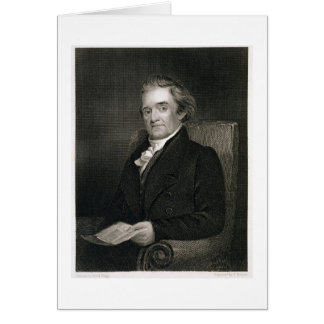 Noah Webster (1758-1843) engraved by Frederick W. Card