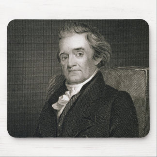 Noah Webster (1758-1843) engraved by Frederick W. Mouse Mat