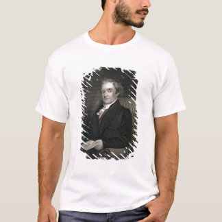 Noah Webster (1758-1843) engraved by Frederick W. T-Shirt