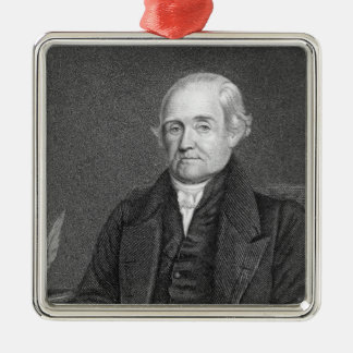 Noah Webster  engraved by G. Parker Christmas Ornament