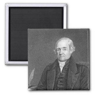 Noah Webster  engraved by G. Parker Magnet