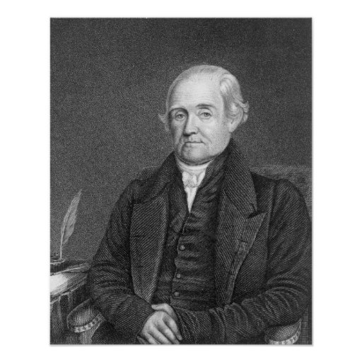 Noah Webster  engraved by G. Parker Poster