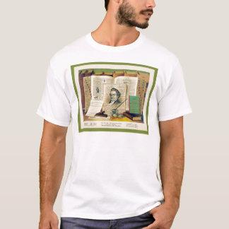 Noah Webster ~ Vintage Fine Art Print T-Shirt
