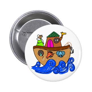 Noahs Ark 6 Cm Round Badge