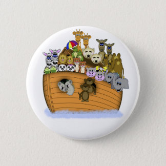 Noah's Ark 6 Cm Round Badge