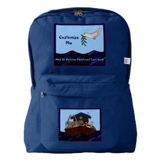 Noah's Ark Backpack