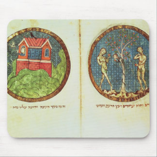 Noah's Ark and Adam and Eve Mouse Mat
