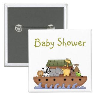 Noahs Ark baby Shower button