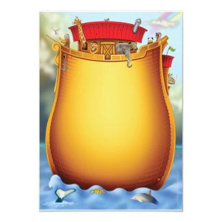 Noah's Ark Baby Shower Invitations