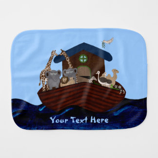 Noah's Ark Burp Cloths