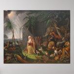 Noah's Ark by Charles Wilson Peale - Circa 1819 Print