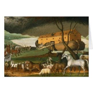 Noah's Ark by Edward Hicks - 1846 Cards