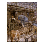Noah's Ark by James Tissot - Circa 1900 Poster