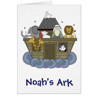Noahs Ark Card-All Occasion Greeting Card