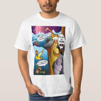 Noah's Ark Cartoon T-Shirt
