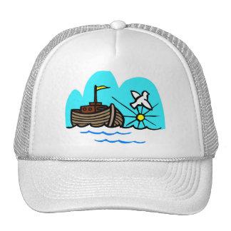 Noah's ark Christian artwork_1 Cap