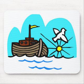 Noah's ark Christian artwork_1 Mouse Pad