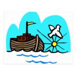 Noah's ark Christian artwork_1 Postcard