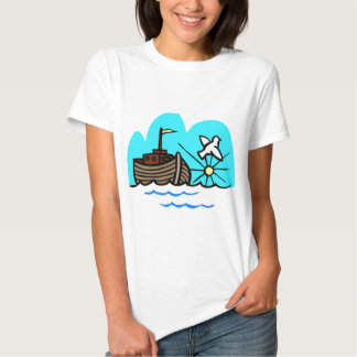 Noah's ark Christian artwork_1 Tshirt