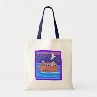 Noah's ark Christian artwork_2 Budget Tote Bag