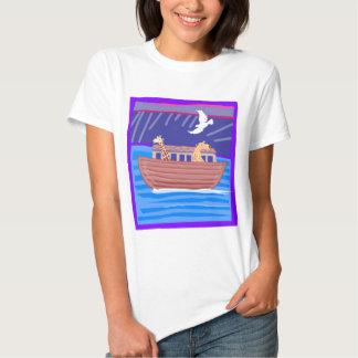 Noah's ark Christian artwork_2 Tshirt