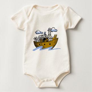 Noah's ark Christian artwork_3 Baby Bodysuits