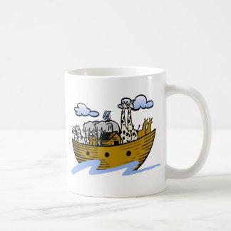Noah's ark Christian artwork_3 Basic White Mug