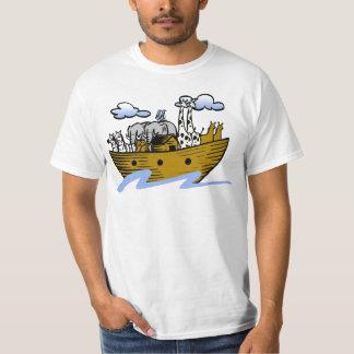 Noah's ark Christian artwork_3 T-shirt