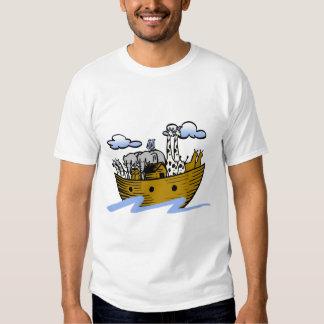 Noah's ark Christian artwork_3 T Shirts