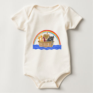 Noah's ark Christian artwork_4 Rompers