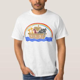 Noah's ark Christian artwork_4 Shirts