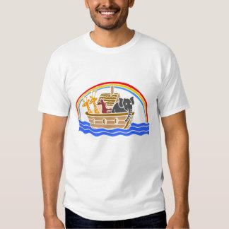 Noah's ark Christian artwork_4 Tee Shirt