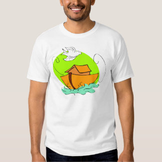 Noah's ark Christian artwork_5 T-shirts