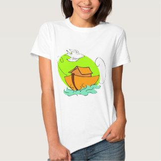 Noah's ark Christian artwork_5 Tshirts