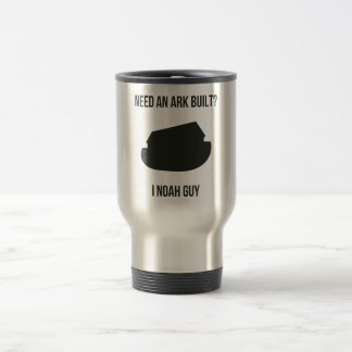 Noah's Ark Christian Pun Travel Mug