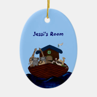 Noah's Ark Christmas Ornament