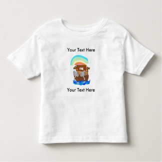 Noah's Ark Customizable Toddler T-Shirt